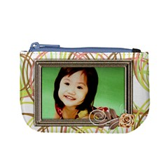Mini Coin Purse   Happy By Angel   Mini Coin Purse   Yi4f283w4bfb   Www Artscow Com Front