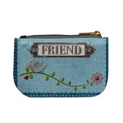 Friend Mini Coin Purse By Lil Back