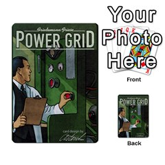 Power Grid Money Cards By Marco   Multi Purpose Cards (rectangle)   1o28qac1ygj8   Www Artscow Com Back 2