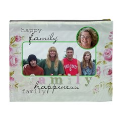 Xl Cosmetic Bag Family Happiness By Laurrie   Cosmetic Bag (xl)   322vfuyiw825   Www Artscow Com Back
