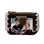 mini coin purse best friends