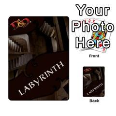 Ataru s Wrath Of Ashardalon Labyrinth Deck By Antonio   Multi Purpose Cards (rectangle)   Mws9jnjyoeew   Www Artscow Com Frontback