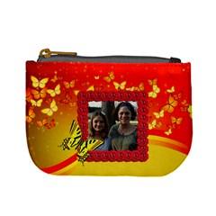Butterfly Mini Change Purse By Kim Blair   Mini Coin Purse   Xx1rkkgmdj0b   Www Artscow Com Front