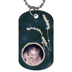 Pen And Ink Dogtags By Charity   Dog Tag (two Sides)   Y4z91576xht7   Www Artscow Com Back
