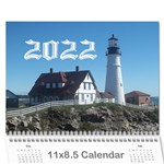 2015 all occassion calendar - Wall Calendar 11  x 8.5  (12-Months)