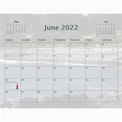 2019 All Occassion Calendar By Kim Blair   Wall Calendar 11  X 8 5  (12 Months)   Ktjmidr8sx96   Www Artscow Com Jun 2019