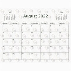 2019 All Occassion Calendar By Kim Blair   Wall Calendar 11  X 8 5  (12 Months)   Ktjmidr8sx96   Www Artscow Com Aug 2019