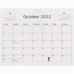 2019 All Occassion Calendar By Kim Blair   Wall Calendar 11  X 8 5  (12 Months)   Ktjmidr8sx96   Www Artscow Com Oct 2019