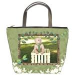 Green Nature Bucket Bag