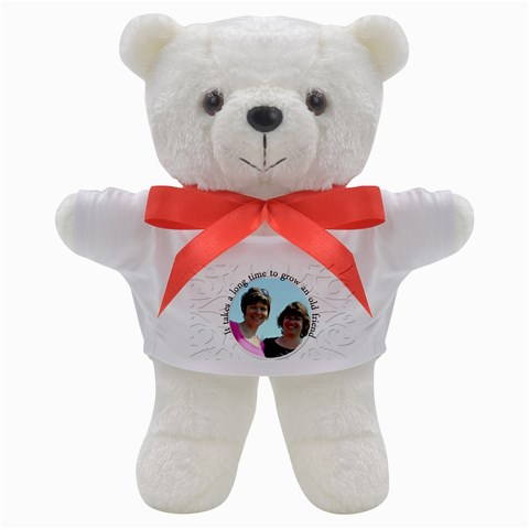Friendship Teddy By Patricia W   Teddy Bear   Np728yir1995   Www Artscow Com Front