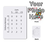 Patterns Results Cards - Multi-purpose Cards (Rectangle)
