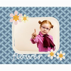 Flower Girl By Joely   Collage 8  X 10    8tdxg7frmgxu   Www Artscow Com 10 x8 Print - 2