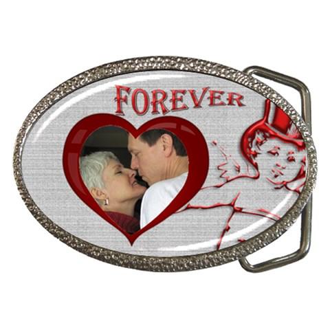 Forever Belt Buckle By Deborah   Belt Buckle   8tq8gw008jsj   Www Artscow Com Front