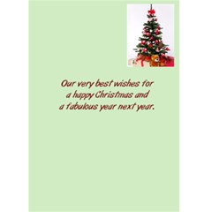 2011 Christmas Card By Peter Coyne   Greeting Card 5  X 7    7p8lw6bscc4w   Www Artscow Com Back Inside