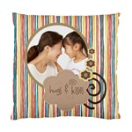 Let Me Hug n Kiss You - Cushion Case - Standard Cushion Case (One Side)