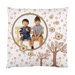 Choco Florals Fun Cushion Case - Cushion Case (One Side)
