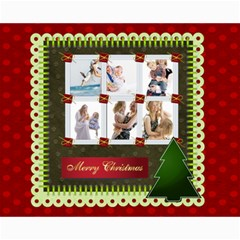 Christmas By Joely   Collage 8  X 10    Mfccef5nx8cm   Www Artscow Com 10 x8 Print - 3