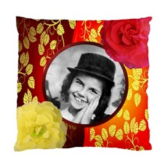 Red And Gold Cushion Case By Kim Blair   Standard Cushion Case (two Sides)   6c0ypfd6021x   Www Artscow Com Front