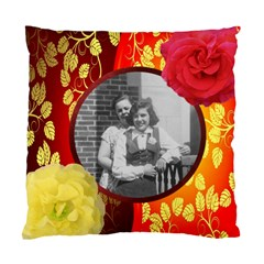 Red And Gold Cushion Case By Kim Blair   Standard Cushion Case (two Sides)   6c0ypfd6021x   Www Artscow Com Back