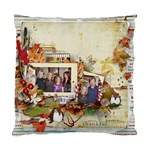 Christmas Pillow-My Family - Cushion Case (One Side)
