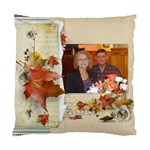 Christmas Pillow-Dorlaine and Ken - Cushion Case (One Side)