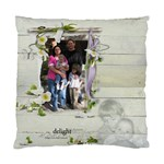 Christmas Pillow-Nina and Joe - Cushion Case (One Side)