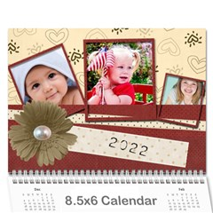 Love Conquers All 2015 Calendar By Amarie   Wall Calendar 8 5  X 6    79c4bnw45mrw   Www Artscow Com Cover