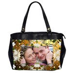 Tangled in Love Oversized (2 Sided) Office Bag - Oversize Office Handbag (2 Sides)