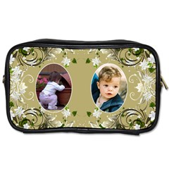 Floral Toiletries Bag (2 Sided) By Deborah   Toiletries Bag (two Sides)   Nnjaweo5bm6d   Www Artscow Com Front