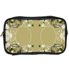 Floral Toiletries Bag (2 Sided) By Deborah   Toiletries Bag (two Sides)   Nnjaweo5bm6d   Www Artscow Com Back