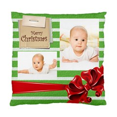 Baby Xmas By Wood Johnson   Standard Cushion Case (two Sides)   Fhiqodk3icmx   Www Artscow Com Front