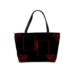 Red And Black Classic Shoulder Bag By Deborah   Classic Shoulder Handbag   Cawkoo8dgwbw   Www Artscow Com Back