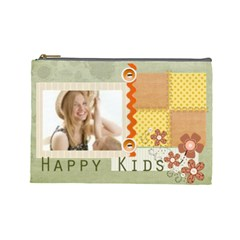 Kids By Joely   Cosmetic Bag (large)   Ao9aughr2bur   Www Artscow Com Front