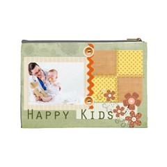Kids By Joely   Cosmetic Bag (large)   Ao9aughr2bur   Www Artscow Com Back