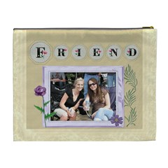 Friends Xl Cosmetic Bag By Lil    Cosmetic Bag (xl)   Mi6hscplau5f   Www Artscow Com Back