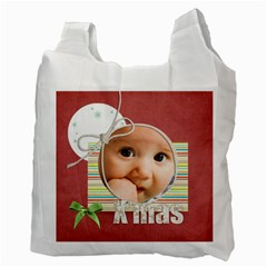 Xmas By Joely   Recycle Bag (two Side)   70orfj0ymr0y   Www Artscow Com Back