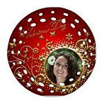 Valentine Filigree Ornament - Ornament (Round Filigree)