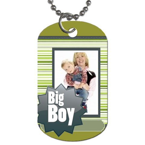 Big Boy By Joely   Dog Tag (one Side)   W5i5zb83mtne   Www Artscow Com Front