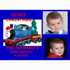 Christmas Cards By Melanie   5  X 7  Photo Cards   Ma60uz7qd6o4   Www Artscow Com 7 x5 Photo Card - 6