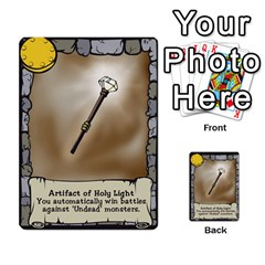 Dungeon Delver By Drew Chamberlain   Multi Purpose Cards (rectangle)   Hons7l2gm2n8   Www Artscow Com Front 1