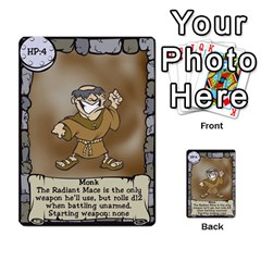 Dungeon Delver By Drew Chamberlain   Multi Purpose Cards (rectangle)   Hons7l2gm2n8   Www Artscow Com Front 27