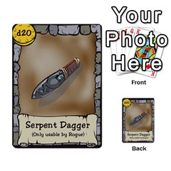 Dungeon Delver By Drew Chamberlain   Multi Purpose Cards (rectangle)   Hons7l2gm2n8   Www Artscow Com Front 36