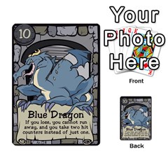 Dungeon Delver By Drew Chamberlain   Multi Purpose Cards (rectangle)   Hons7l2gm2n8   Www Artscow Com Front 5