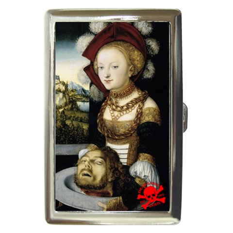 Elder Salome Beheading : Cigarette Case By Von Zombie ™©®   Cigarette Money Case   9w4hr76981qi   Www Artscow Com Front