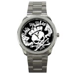 Zombie King Mark Black : Sport Watch - Sport Metal Watch