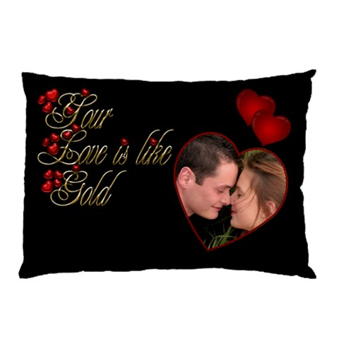 Love Pillow Case By Deborah   Pillow Case   1ke1g6pcv3zt   Www Artscow Com 26.62 x18.9 Pillow Case