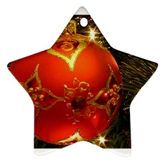 Xmas Ornament Star Ornament (Two Sides) by creationsbyvic