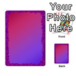 pink/purple multipurpose cards - Multi-purpose Cards (Rectangle)