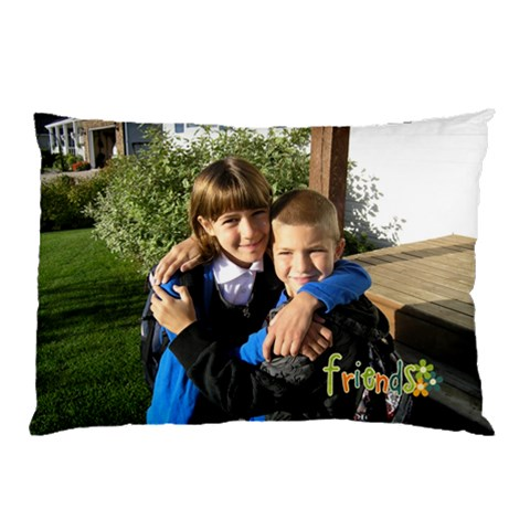 Friends Pillowcase By Albums To Remember   Pillow Case   77a69ymlaiuy   Www Artscow Com 26.62 x18.9  Pillow Case