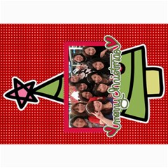 Xmas By Tammy   5  X 7  Photo Cards   O7m5jpg3qker   Www Artscow Com 7 x5  Photo Card - 12